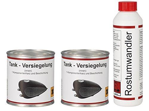 WAGNER Spezialschmierstoffe GmbH & Co. KG 2X Tankversiegelung 250 ml & 1x Rostumwandler 250 ml