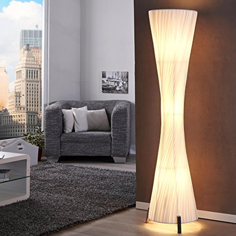 LOUNGE DESIGNER STEHLAMPE SILUETA Bodenlampe Wohnzimmerlamp 160 cm wei