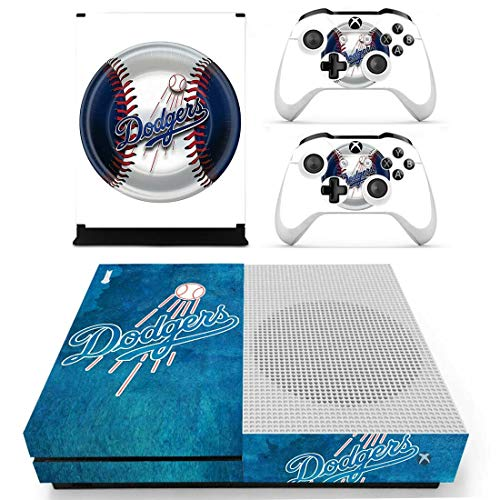 KALINDA MODI Vinyl Skin Sticker Cover Decal for Microsoft Xbox One S Console and Remote Controllers MLB American HD Printing (OnlyXbox One S)