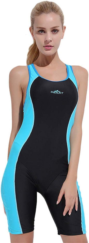 JASQSY Bikini-Anzug Conservative Woman EIN Stück Straight Angle Swimming New Pattern Cover Belly Show Sexy Motion Swimwear,B,M B07P65NSG7  In hohem Grade geschätzt und weit Grünrautes herein und heraus