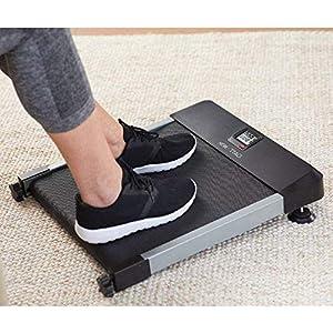 North American Health + Wellness Hometrack Sitting Manual Treadmill - Adjustable Incline Decline – Slim Design, Great for Office & Under Desk Space