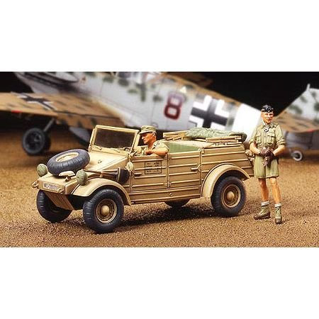 タミヤ 1/48 ミリタリーミニチュアシリーズ No.03 ドイツ陸軍 Pkw.K1 キューベルワーゲン82型 アフリカ仕様...