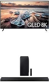 Samsung QN55Q900RBFXZA Flat 55-Inch QLED 8K Q900 Series Ultra HD Smart TV with HDR and Alexa Compatibility + HW-Q800T 3.1....