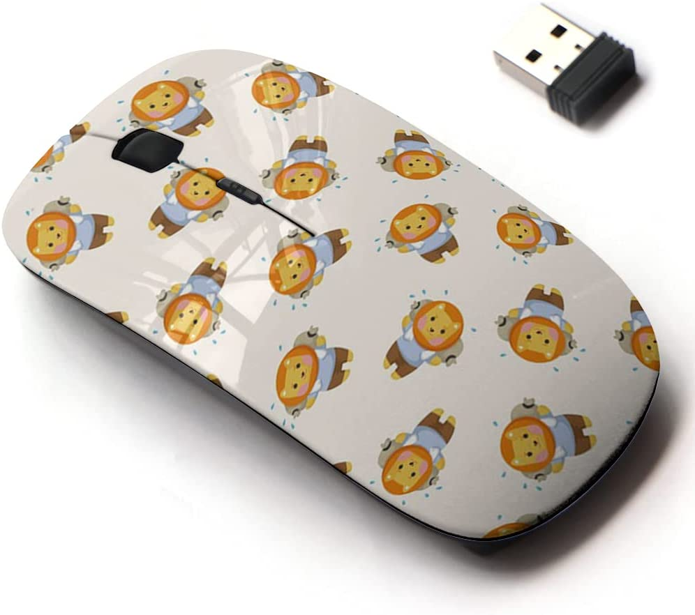 Ranking TOP2 2.4G Wireless Mouse Max 77% OFF with Cute Pattern Laptops All Design for and