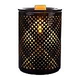 SUNPIN Ceramic Wax Warmer,Black Hollow Electric Fragrance Candle...