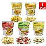 Planty Freeze Dried Fruit Snacks, Crunchy Fruit Crisps / Fruit Chips (Variety, 5-Pack)