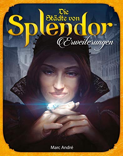 Asmodee Splendor - Die Städte von Splendor, Erweiterung, Familienspiel, Stratgispiel, Deutsch