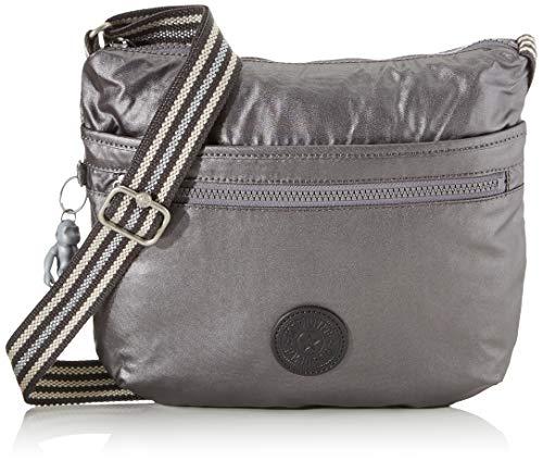 Kipling Arto Women's Cross-Body Bag, Black (Carbon Metallic), 29x26x4 Centimeters (B x H x T)
