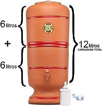 Filtro De Barro São Pedro 6 Litros com 1 Boia e 1 Vela