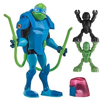 Rise of the Teenage Mutant Ninja Turtle Bug Bustin  Leonardo Action Figure Multicolor