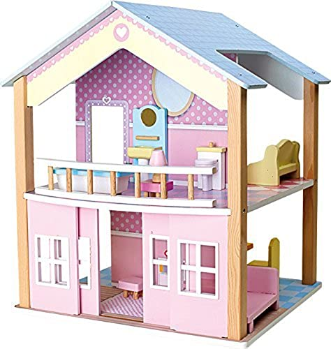 buen precio Legler azul Roof Doll's House by by by Legler  la mejor selección de
