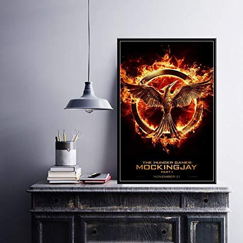 Juego Hot Movie Art Series Canvas Poster Wall Home Decor,Pintura sin Marco,40X60cm