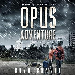 Opus Adventure audiobook cover art