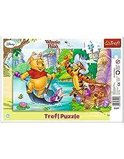 Puzzle Disney Winnie l'Ourson - Chasse aux Trésors - 15 pièces
