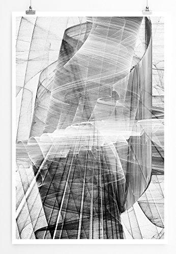 Ambre Sultan - modernes abstraktes Bild Sinus Art - Bilder, Poster und Kunstdrucke