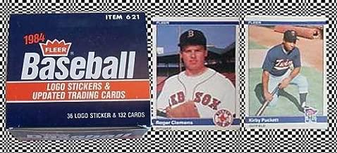 1984 Fleer Update Baseball Card Set Item 621, with Roger Clemens Rookie Card
