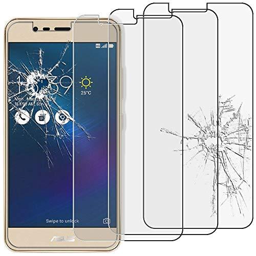 ebestStar - kompatibel mit Asus Zenfone 3 Max Panzerglas x3 ZC520TL Schutzfolie Glas, Schutzglas Bildschirmschutz, Bildschirmschutzfolie 9H gehärtes Glas [Phone: 149.5 x 73.7 x 8.6mm, 5.2'']