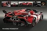 Motorsport - Poster - Lamborghini Veneno Roadster +