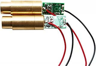 lights88 Green Laser Modules Laser Diodes 532nm 50 mw Green Dot Laser 2 Pack