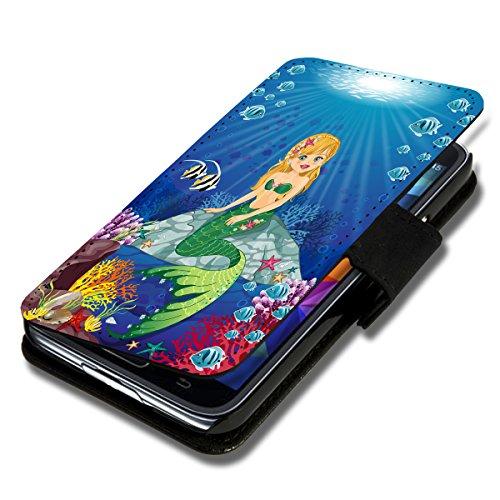 Book Style Flip Handy Tasche Hülle Schutz Hülle Schale Motiv Etui für Huawei Ascend Y300 - A35 Design11