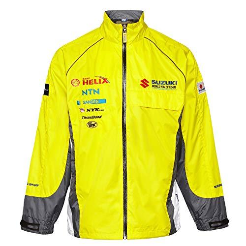 WRC Challenge Suzuki Sport World Rally Team Motorsport para hombre amarillo chaqueta