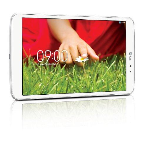 LG G Pad V500 - Tablet de 8.3' (Bluetooth + WiFi, 16 GB, 2 GB RAM, Android Jelly Bean 4.2.2), Blanco (Importado)