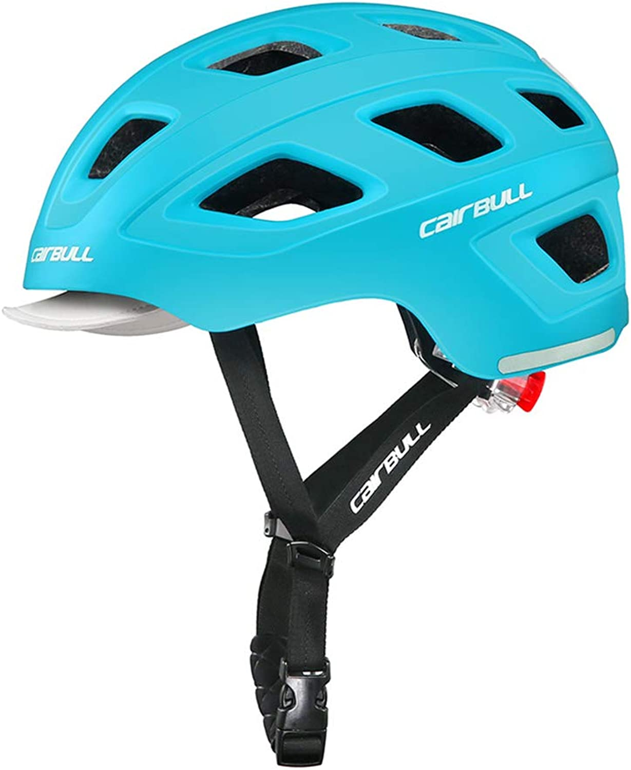 HAohAnwuyg Bike Helmet,Sports Equipment,Cairbull Castle Lightweight MTB Bicycle Cycling Safety Helmet with Taillight  White