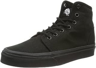 0RQMBKA Canvas Women's 106 Hi Black/Black Fashion Sneakers Shoes