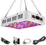 HELESIN 1000W LED Pflanzenlampe mit Veg/Bloom Schalter, Vollspektrum LED Grow Light Pflanzenlicht mit Daisy Chain Funktion...