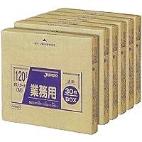 ジャパックス BOXシリーズ 透明 120L 厚み0.040mm DKB93 6BOX(180枚入)×5箱セット