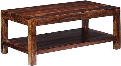 Jodhpuri Coffee Table (Oil Paint Finish, Teak)