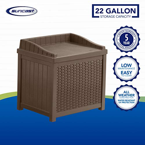 Suncast 22 Gallon Deck Box SSW12006