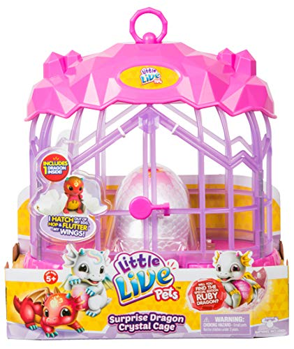 Little Live Pets Surprise Dragon Crystal Cage