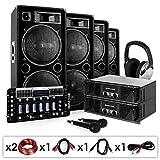 Electronic Star Set para DJ PA Bass First Pro 4000 W - 2 Amplificadores , 4 Altavoces de 2 Niveles ,...