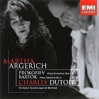 Prokofiev: Piano Concertos Nos. 1 & 3 / Bartok: Piano Concerto No. 3 (1998-10-06)