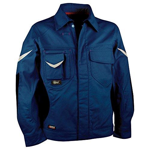 Cofra S.r.l. 40-00V01102-50 Cofra Bundjacke WORKMASTER V011-0-02 Arbeitsjacke Gr. 50, blau