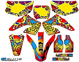 SCATTER Team Racing Graphics kit compatible with Honda 1996-2002 CR 80