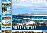 FUERTEVENTURA Paradiesische Impressionen der Insel (Wandkalender 2021 DIN A4 quer): Beeindruckende Facetten einer traumhaften Insel (Monatskalender, 14 Seiten )