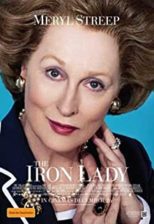 ArtFuzz The Iron Lady 11 x 17 Movie Poster - Style B