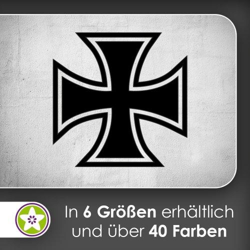 eisernes Kreuz Wandtattoo in 6 Größen - Wandaufkleber Wall Sticker