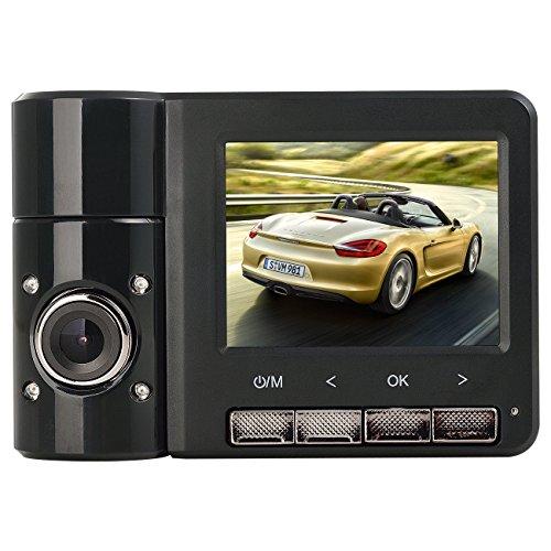 PowMax B60 Pcam PP-B60 FHD 1080P GPS Dual Car Dash Cam 2.31 inch 170° Wide Angle Dashboard Camera...
