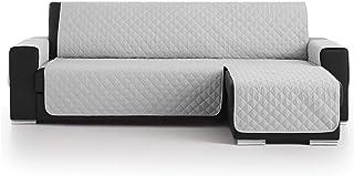 Lanovenanube Belmarti - Funda Chaise Longue Acolchado - Práctica - Derecha 240 cm - Color Gris Claro C21