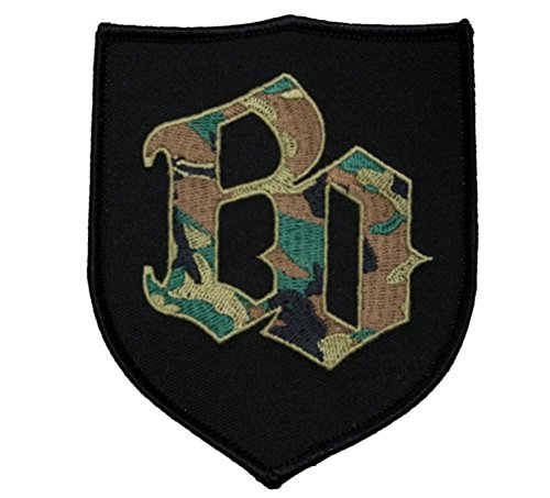 Böhse Onkelz - BO Camouflage Aufnäher/Patch