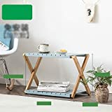 LGQ Plant Stand,Flower Stand Flower Stand, Free to Install X-Fold Multi-Layer Space-Saving Floor-Standing Multi-Function Flower Stand, Suitable for: Living Room/Balcony/Outdoor/Garden, 2 Sizes and Co