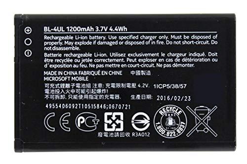 Nokia Original Akku für Nokia 230 Dual SIM, Handy/Smartphone Li-Ion Batterie