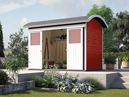 Weka Gartenhaus 228 schwedenrot 21 mm