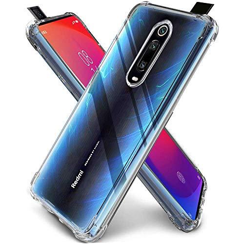 """Capa Protetora Para Xiaomi Mi 9T e Redmi K20 e K20 Pro De Tela 6.39"""" Polegadas Capinha Case Transparente Air Anti Impacto Proteção De Silicone Flexível - Danet"""