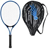 Blue Streak Junior Tennis Racquet - Strung with Cover (Choice of Length)