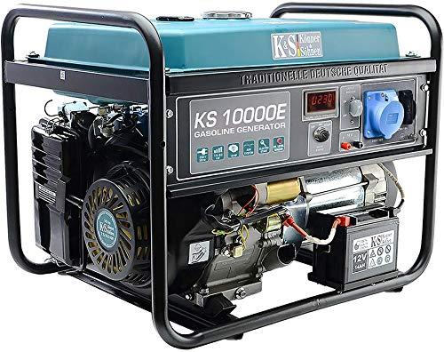 K&S | Könner&Söhnen | Benzin Generator | 230V | Stromaggregat | KS10000E | 8KW | Stromerzeuger Profi