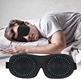 Sleeping Masks for Men Women, Cyraneme Upgraded 3D Contoured Blindfold, Super Soft and Comfortable, Eye Shade Cover for Travel, Nap, Shift Work